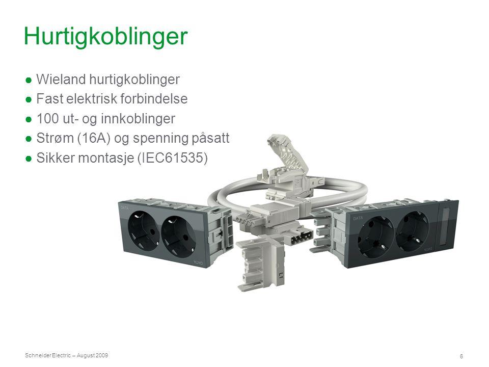 Hurtigkoblinger Wieland hurtigkoblinger Fast elektrisk forbindelse