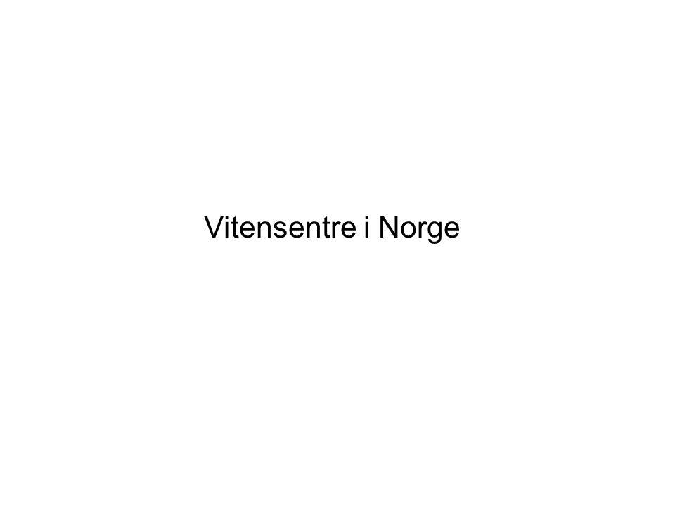 Vitensentre i Norge