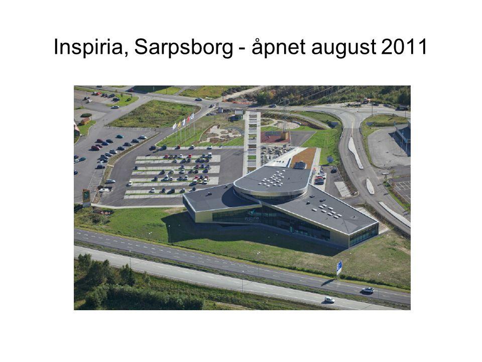 Inspiria, Sarpsborg - åpnet august 2011