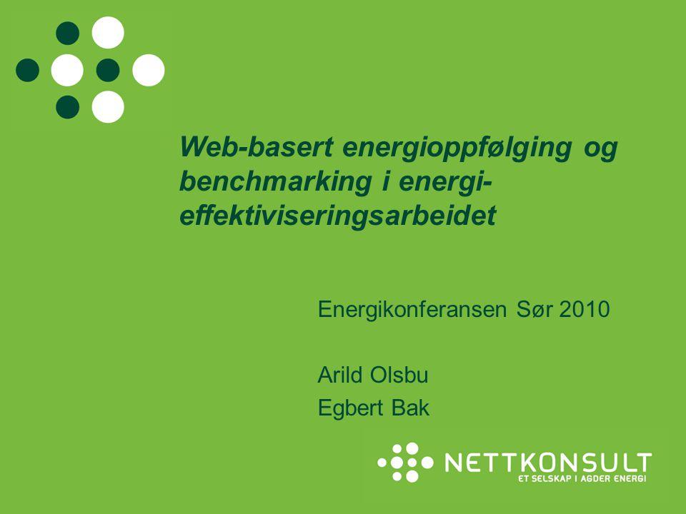 Energikonferansen Sør 2010 Arild Olsbu Egbert Bak