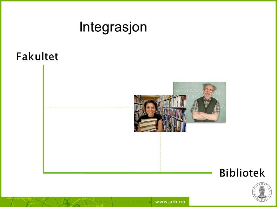 Integrasjon Fakultet Bibliotek 31 31