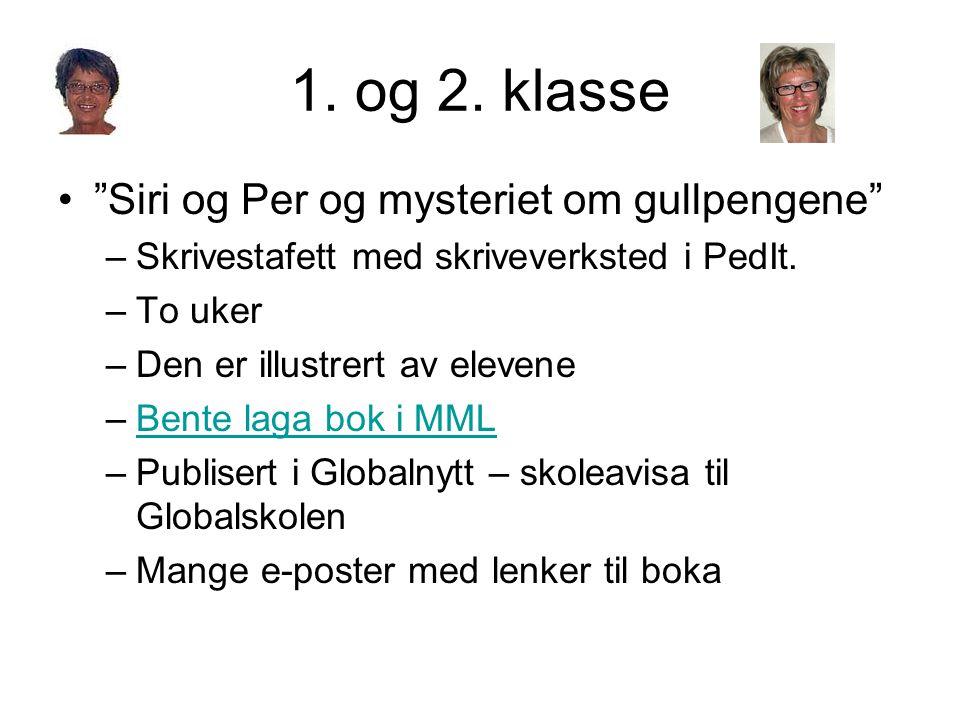 1. og 2. klasse Siri og Per og mysteriet om gullpengene