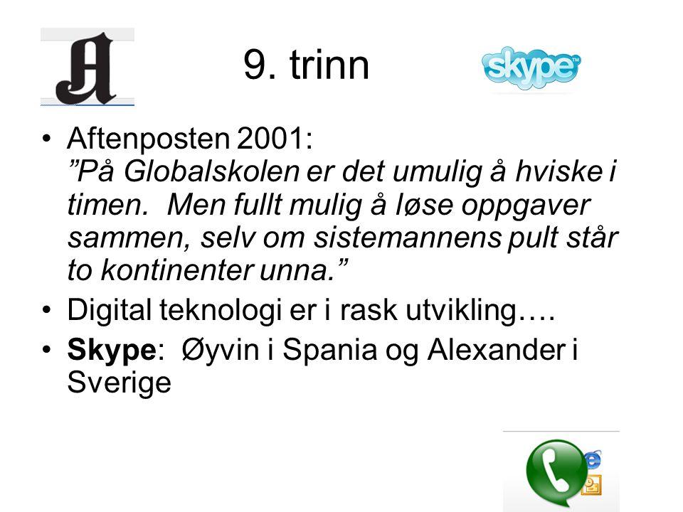9. trinn