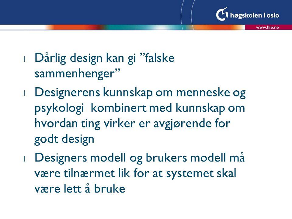 Dårlig design kan gi falske sammenhenger