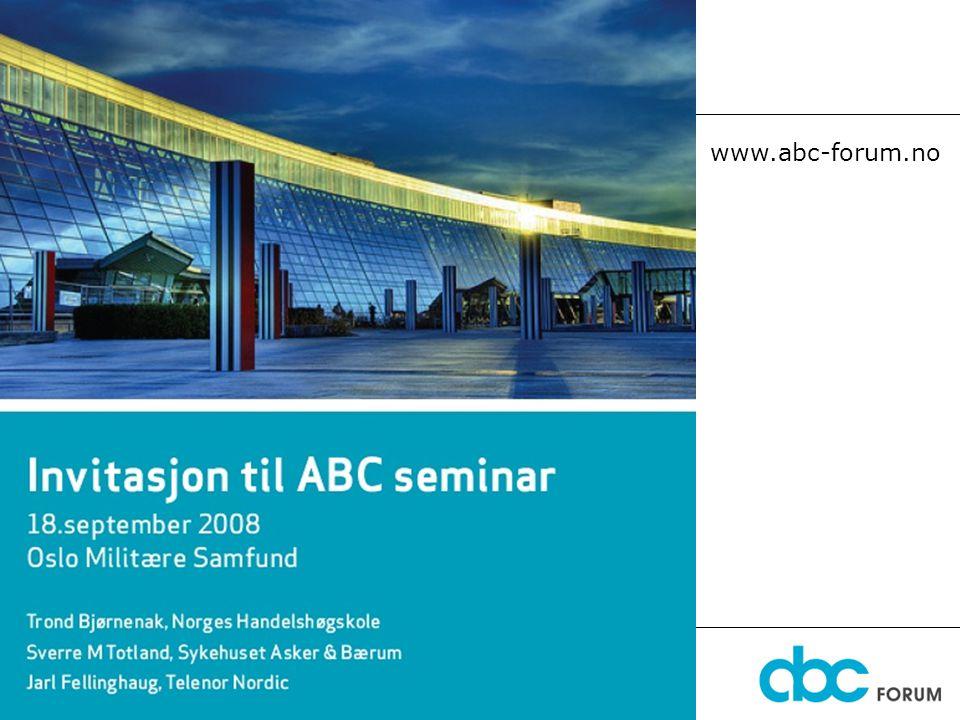 Diskusjonsforum www.abc-forum.no