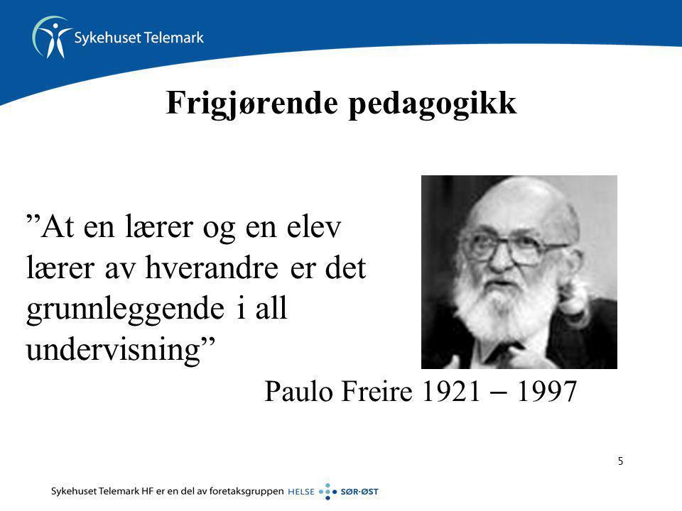 Frigjørende pedagogikk