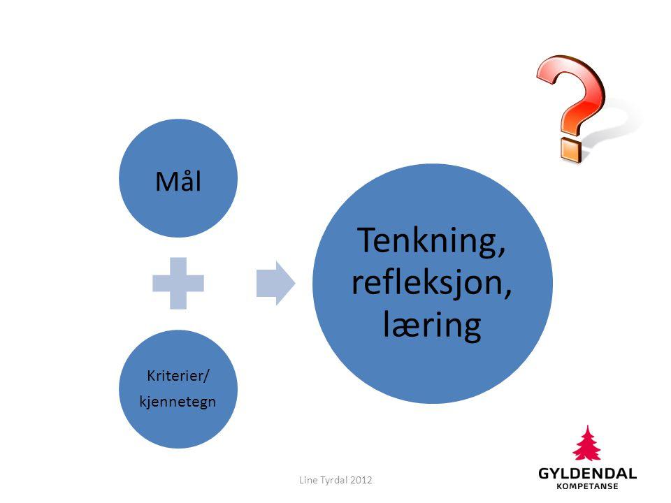 Tenkning, refleksjon, læring