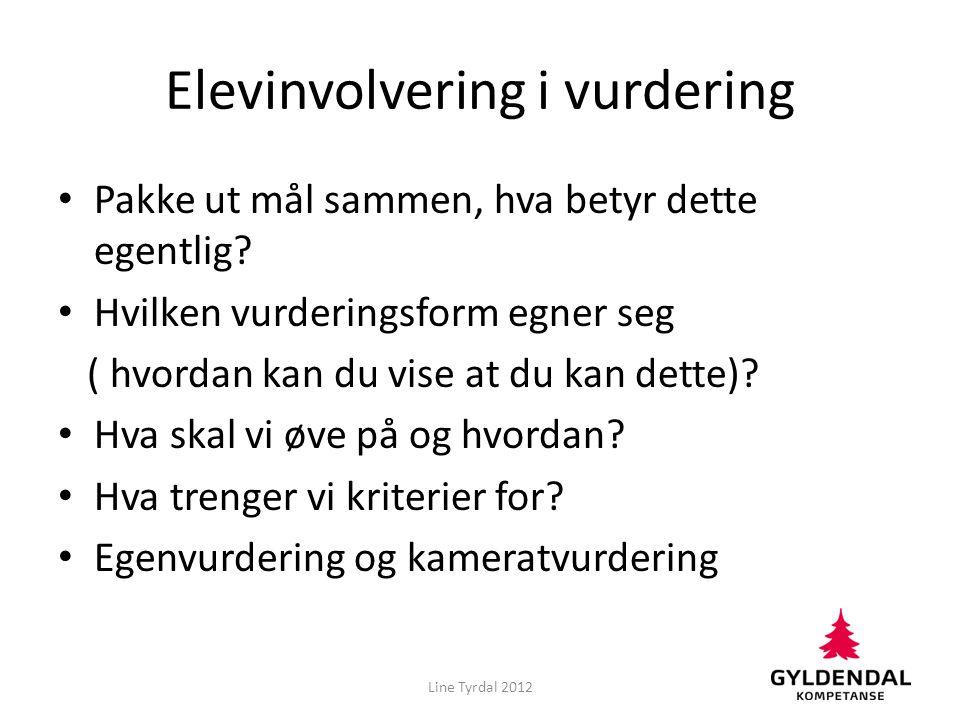 Elevinvolvering i vurdering