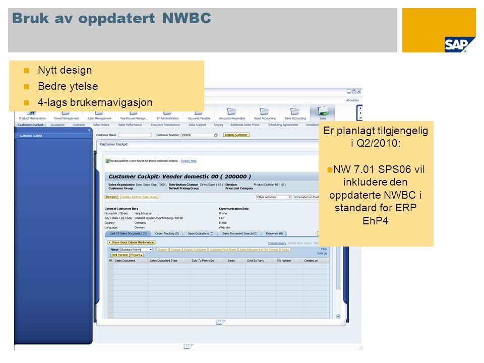 Er planlagt tilgjengelig i Q2/2010: