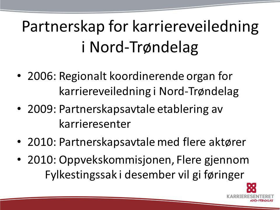 Partnerskap for karriereveiledning i Nord-Trøndelag