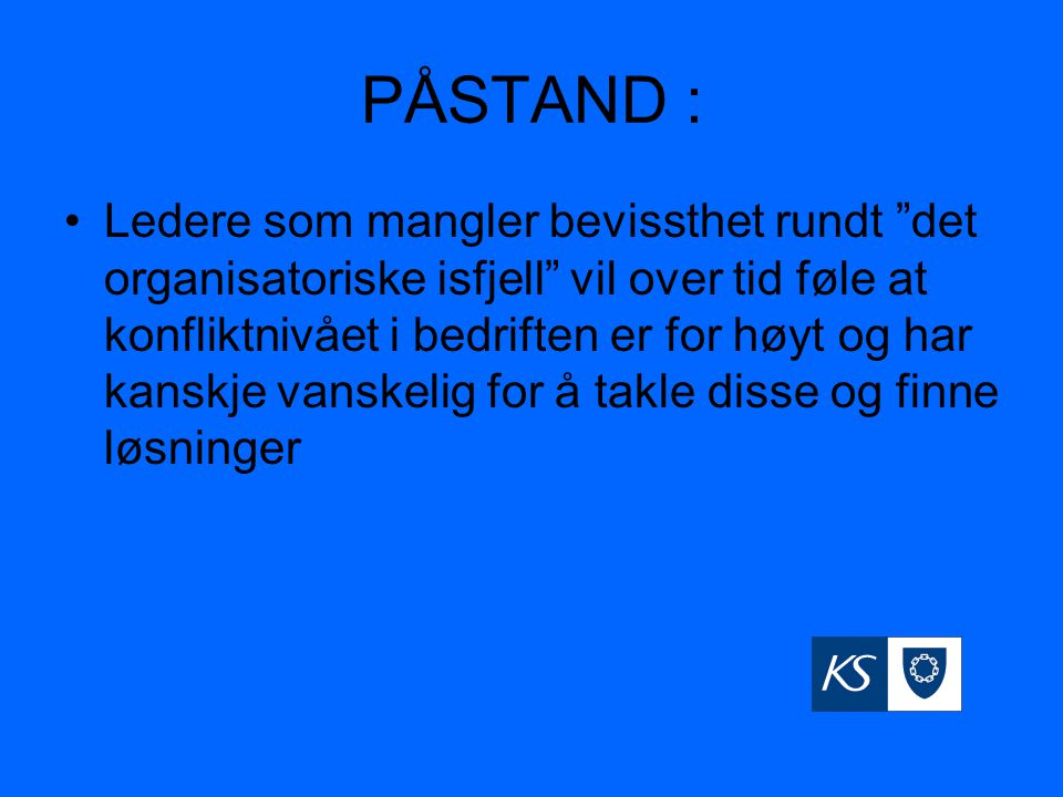 PÅSTAND :