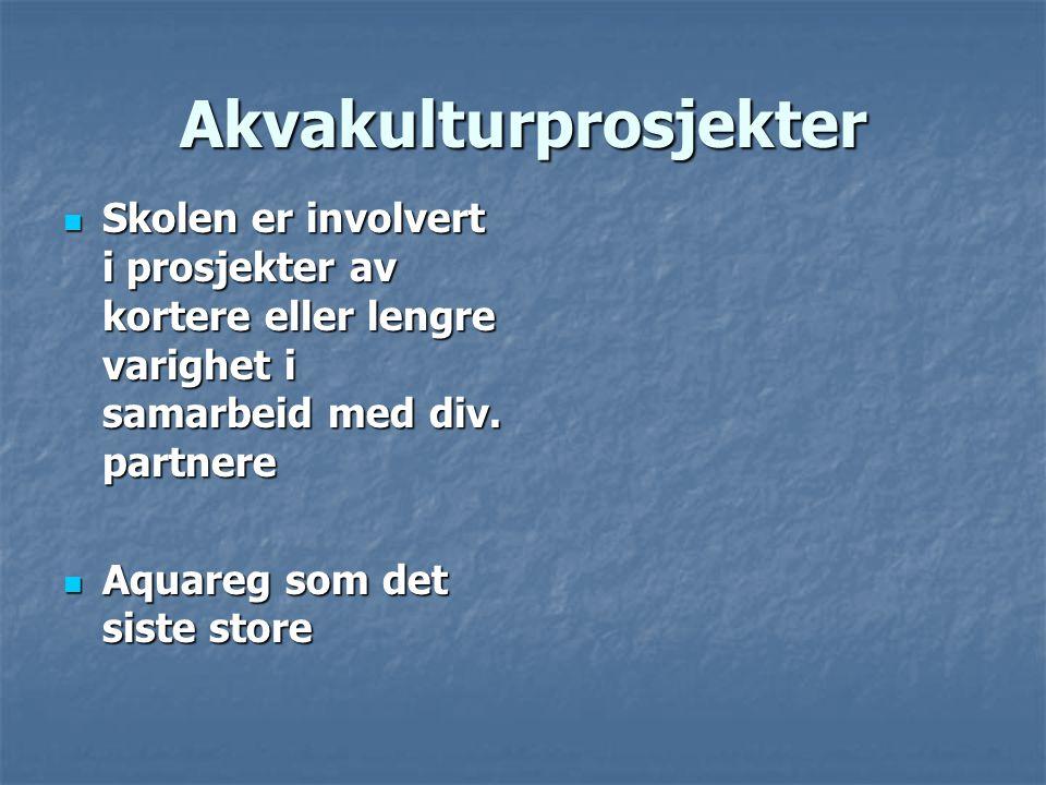 Akvakulturprosjekter