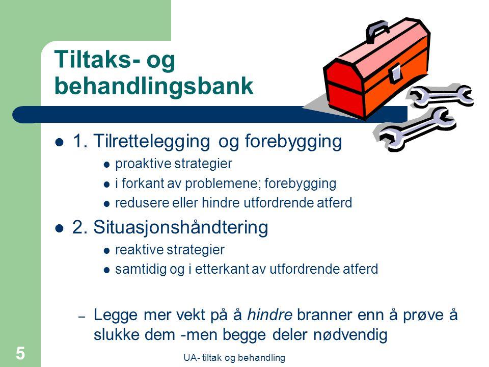 Tiltaks- og behandlingsbank