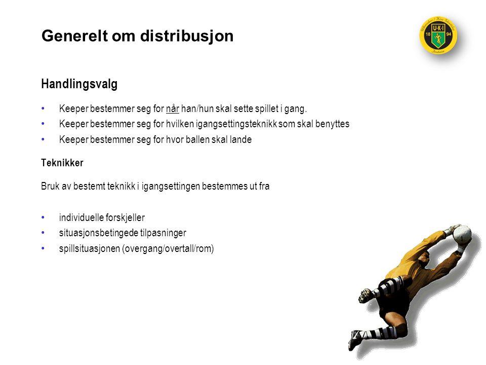Generelt om distribusjon