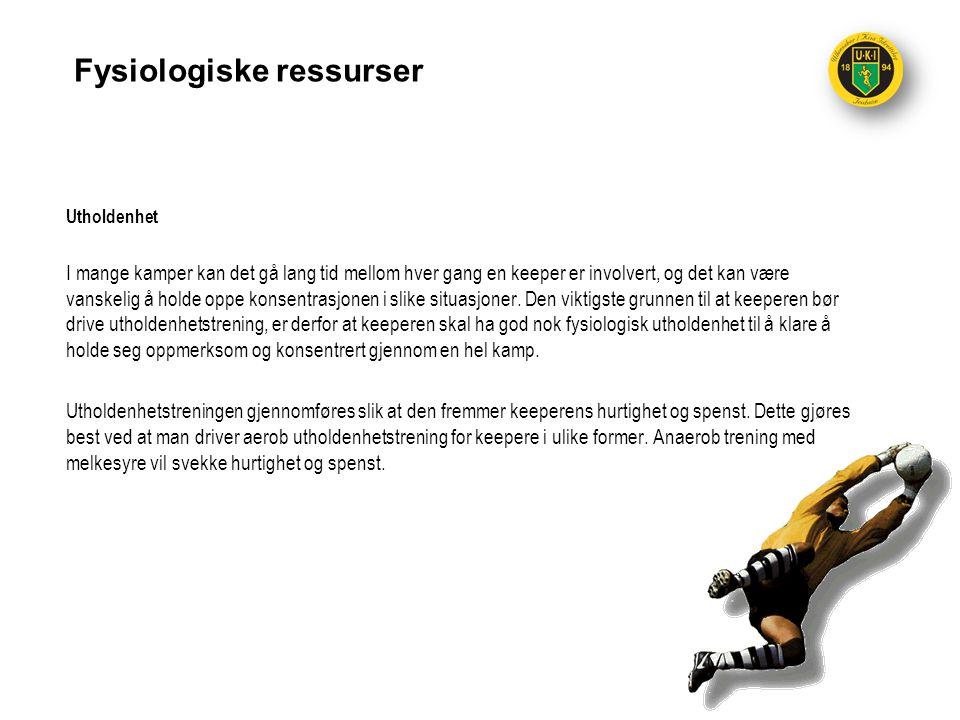 Fysiologiske ressurser