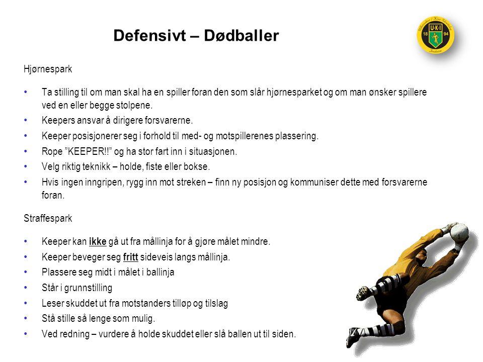 Defensivt – Dødballer Hjørnespark