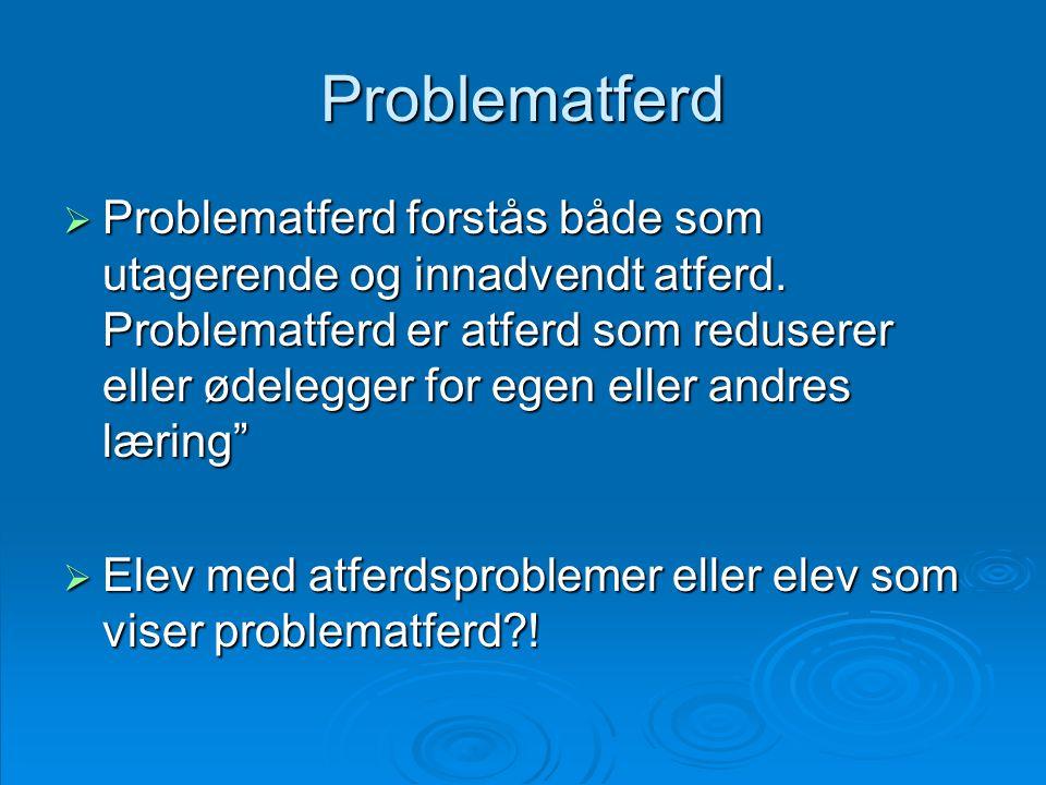 Problematferd
