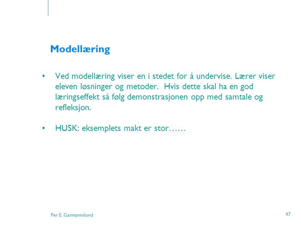 Modellæring