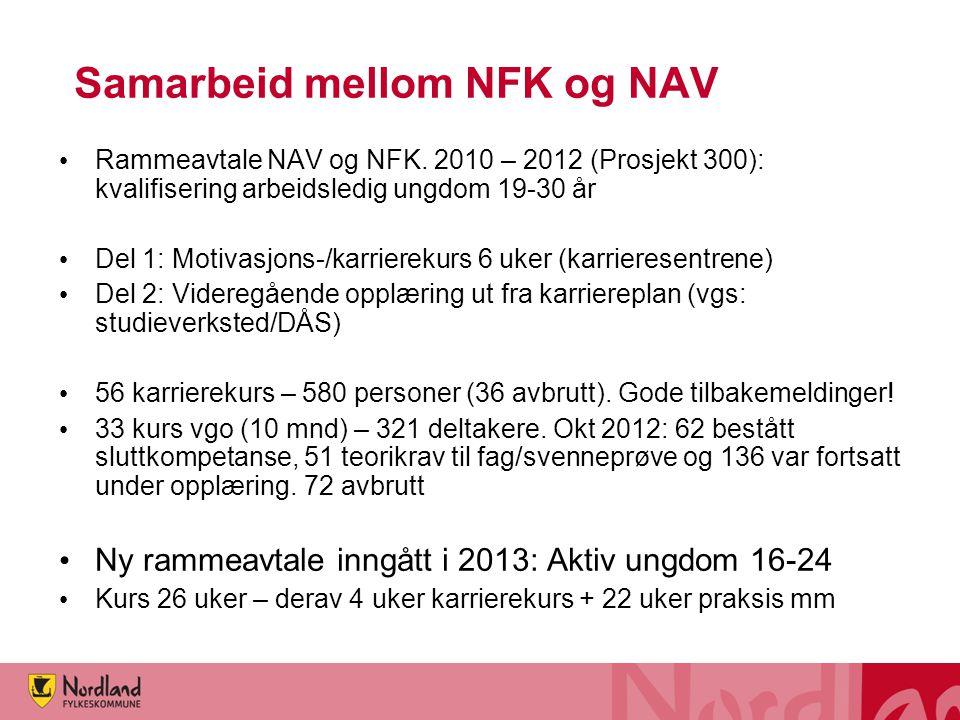 Samarbeid mellom NFK og NAV