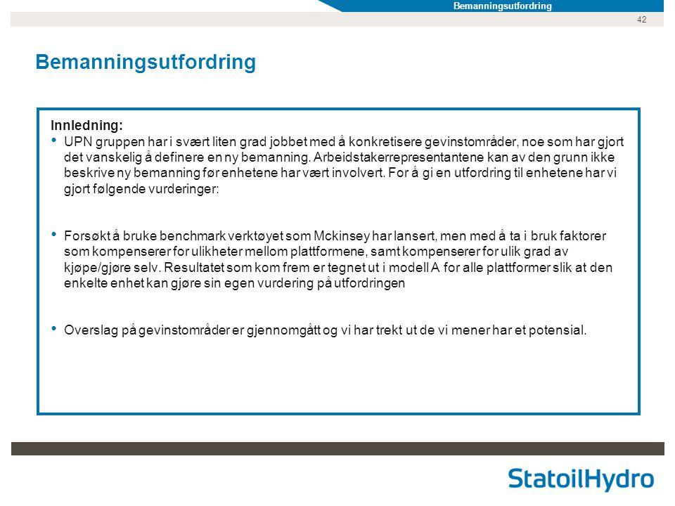 Bemanningsutfordring