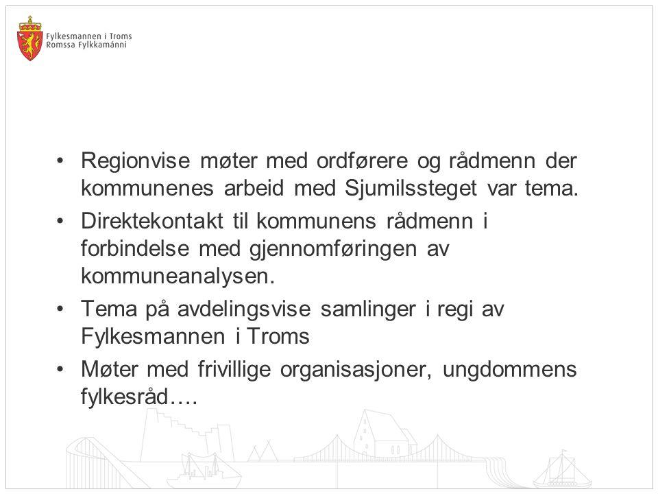 Tema på avdelingsvise samlinger i regi av Fylkesmannen i Troms