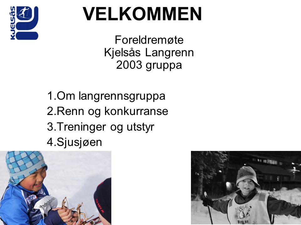 Foreldremøte Kjelsås Langrenn 2003 gruppa