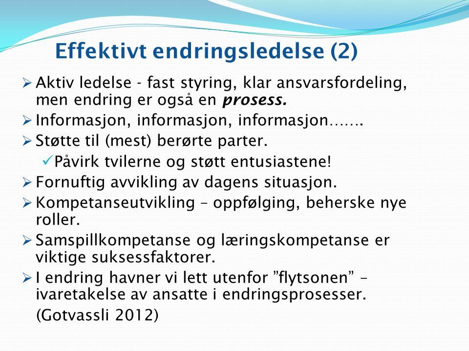 Effektivt endringsledelse (2)