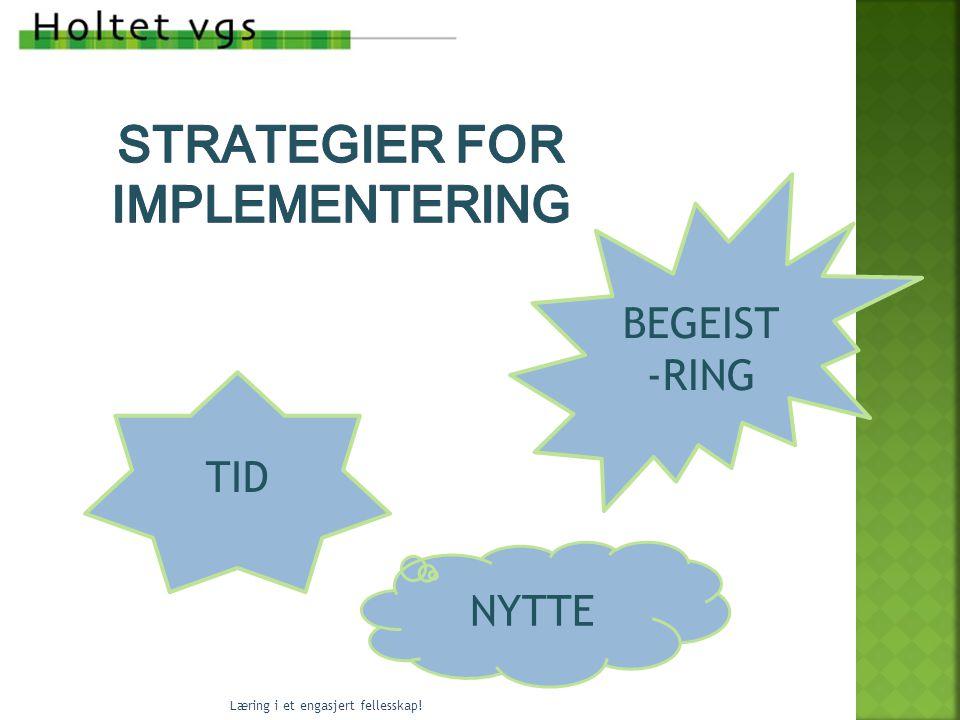Strategier for implementering