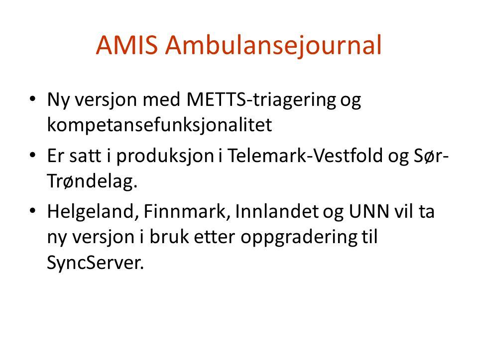 AMIS Ambulansejournal