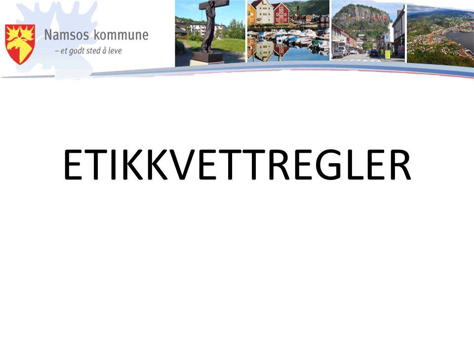 ETIKKVETTREGLER