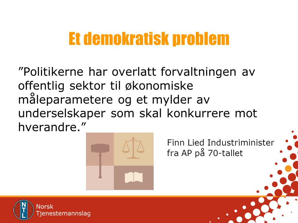 Et demokratisk problem