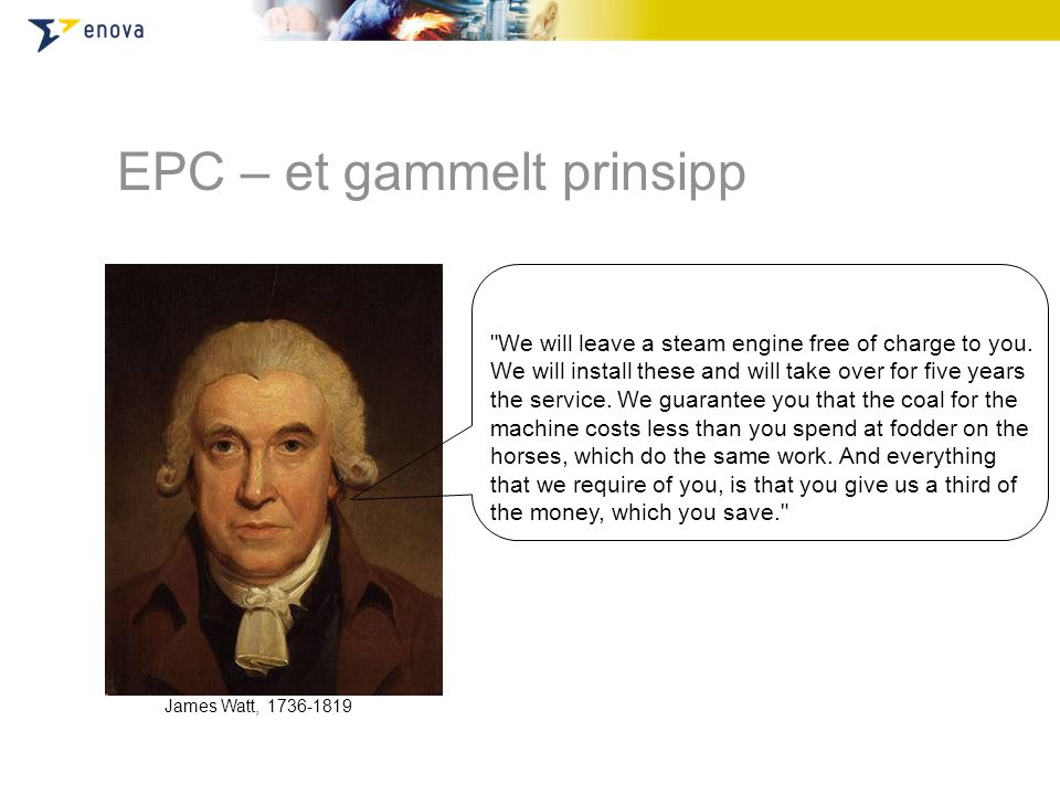EPC – et gammelt prinsipp