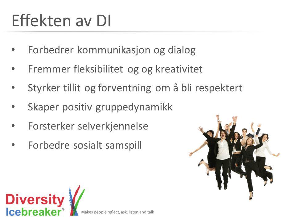 Effekten av DI Forbedrer kommunikasjon og dialog