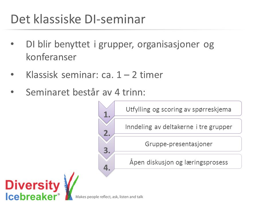 Det klassiske DI-seminar