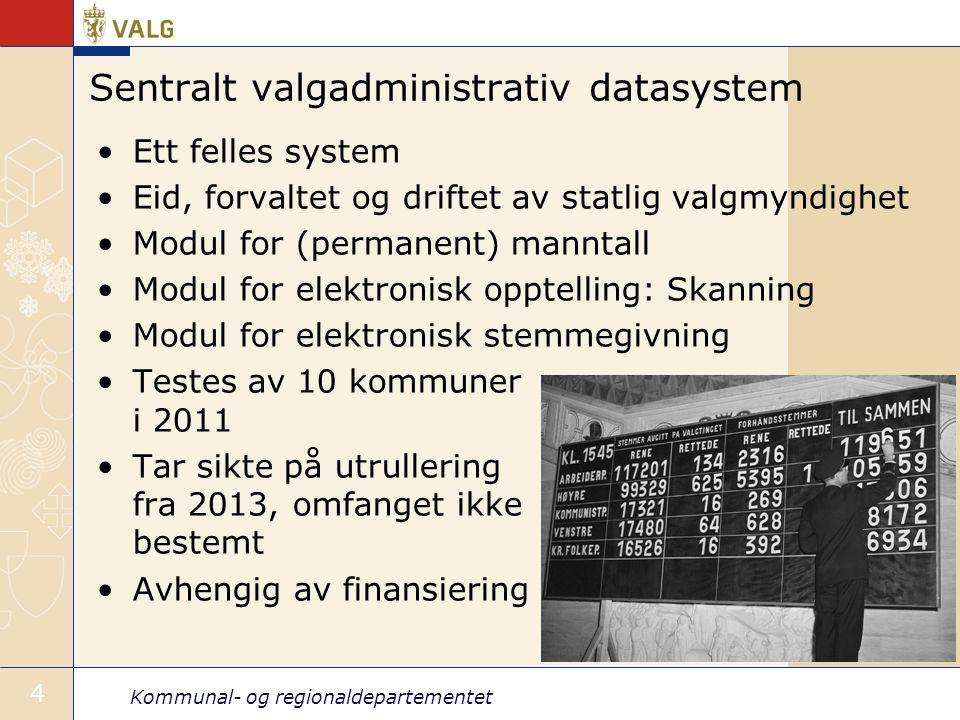 Sentralt valgadministrativ datasystem