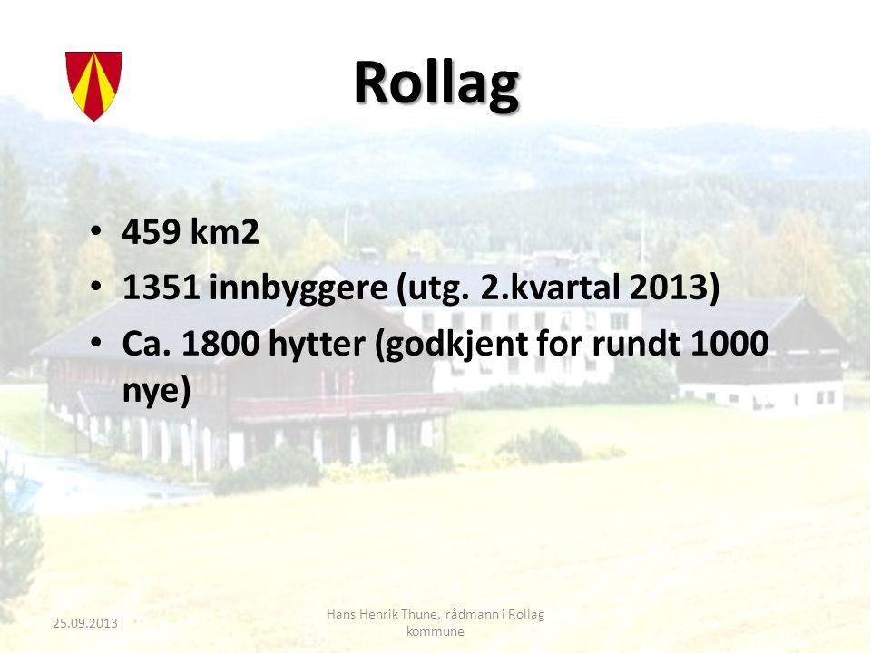 Hans Henrik Thune, rådmann i Rollag kommune