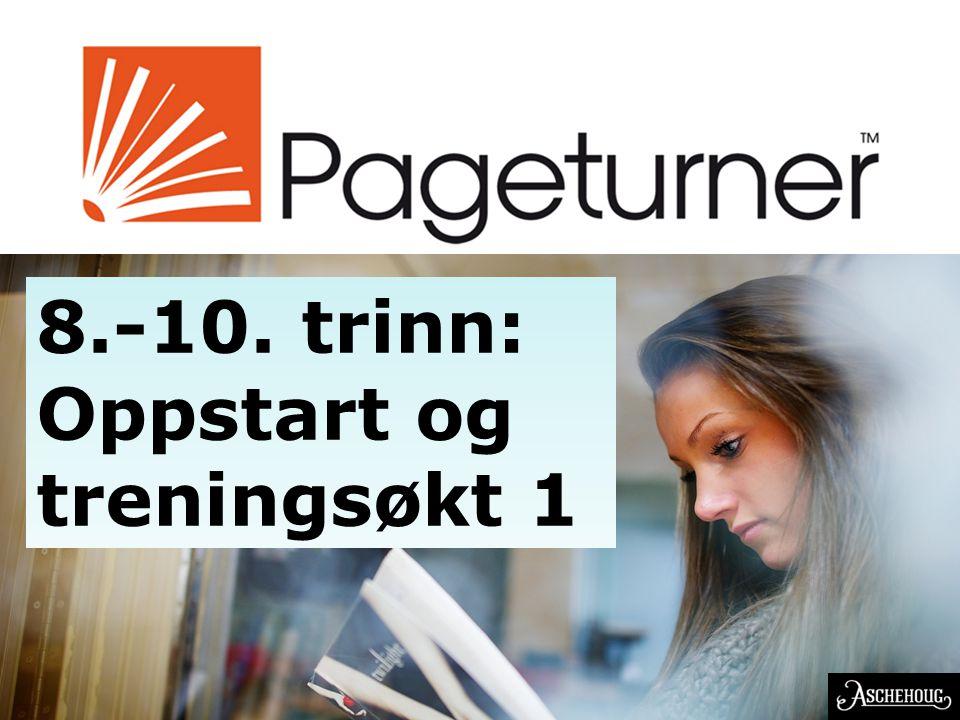 EN NORSK OPPFINNELSE 8.-10. trinn: Oppstart og treningsøkt 1