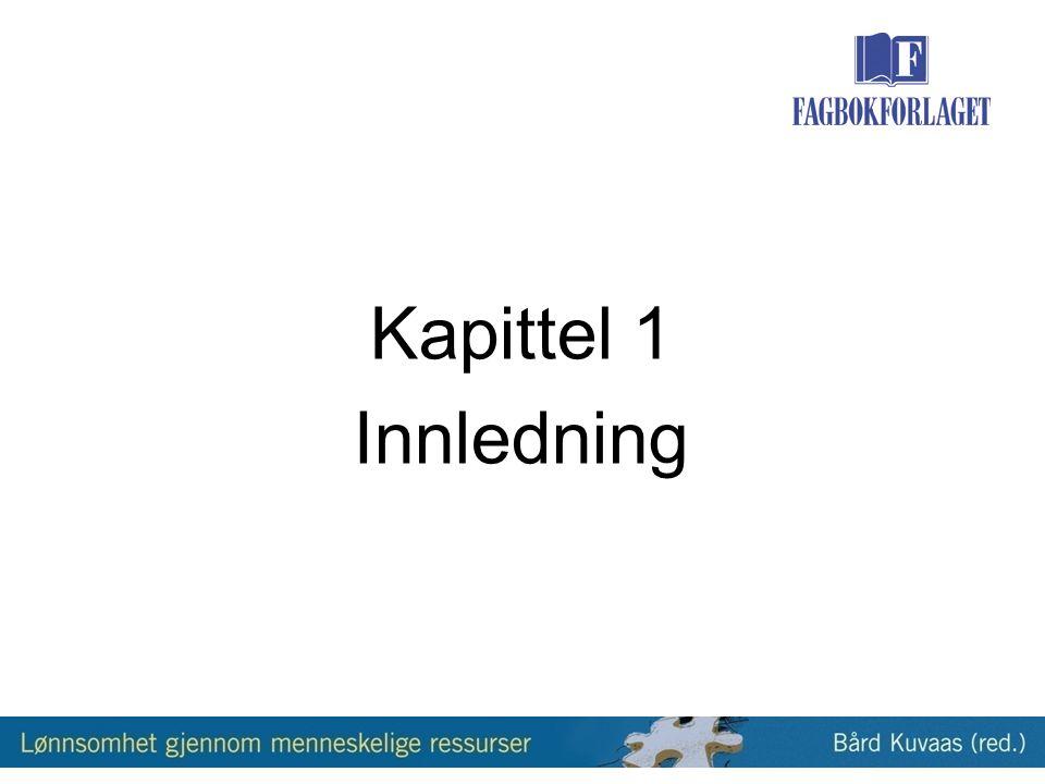 Kapittel 1 Innledning