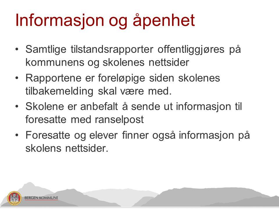 Informasjon og åpenhet