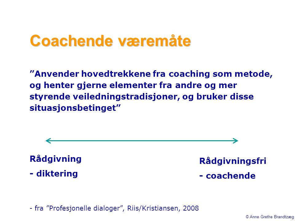 Coachende væremåte