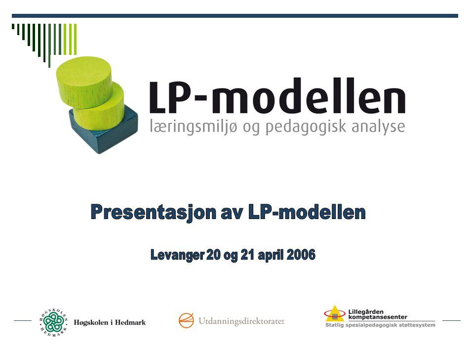 Presentasjon av LP-modellen
