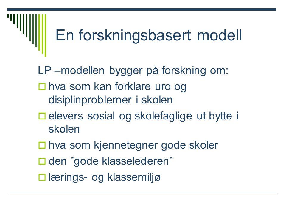 En forskningsbasert modell