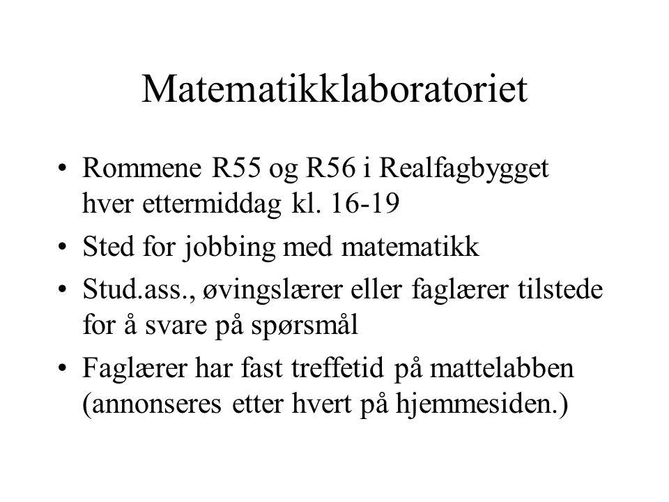 Matematikklaboratoriet