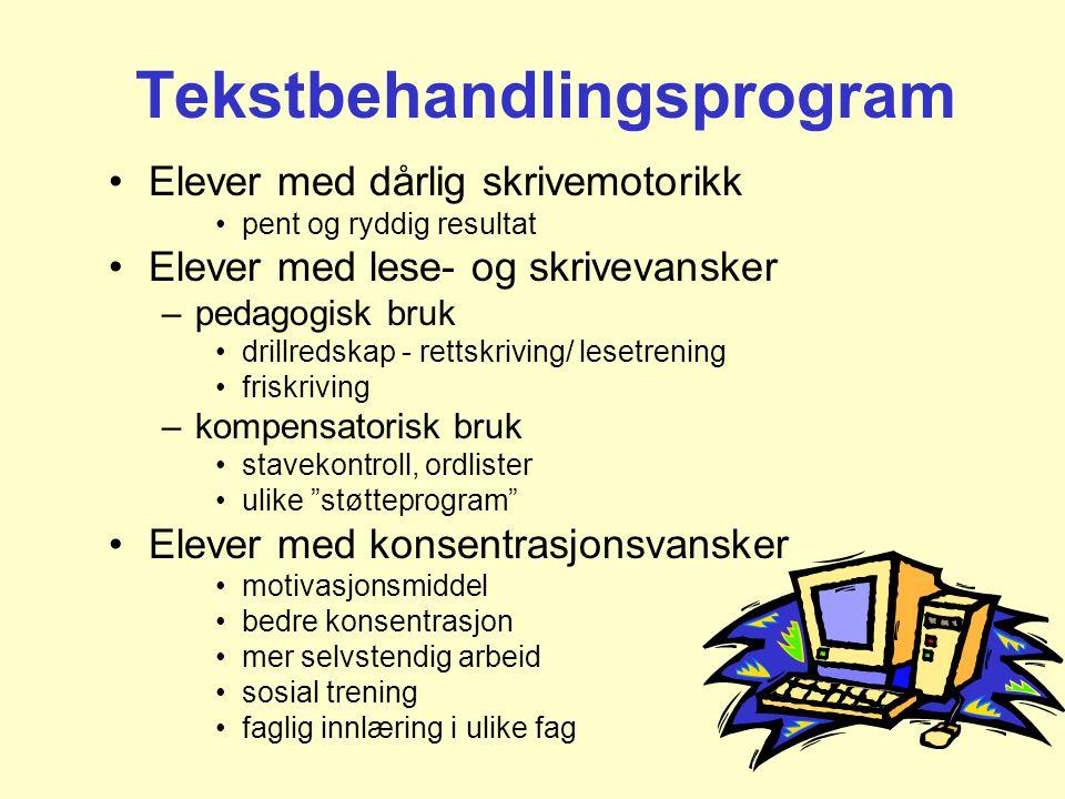 Tekstbehandlingsprogram
