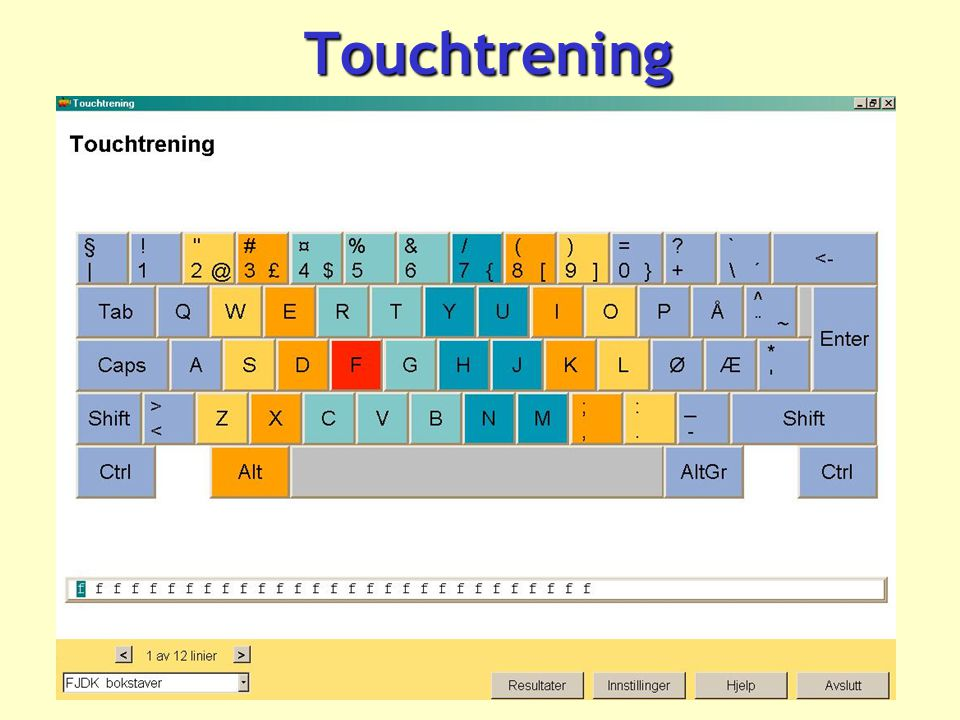 Touchtrening