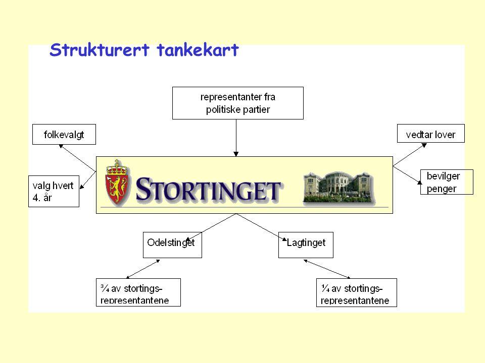 Strukturert tankekart