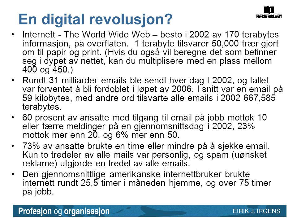 En digital revolusjon