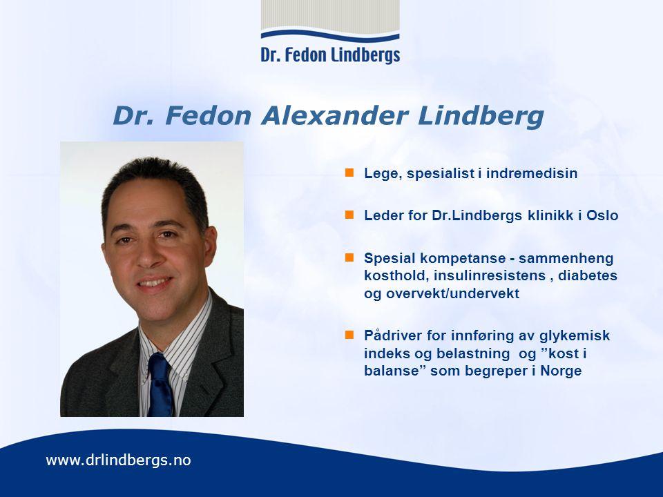 Dr. Fedon Alexander Lindberg