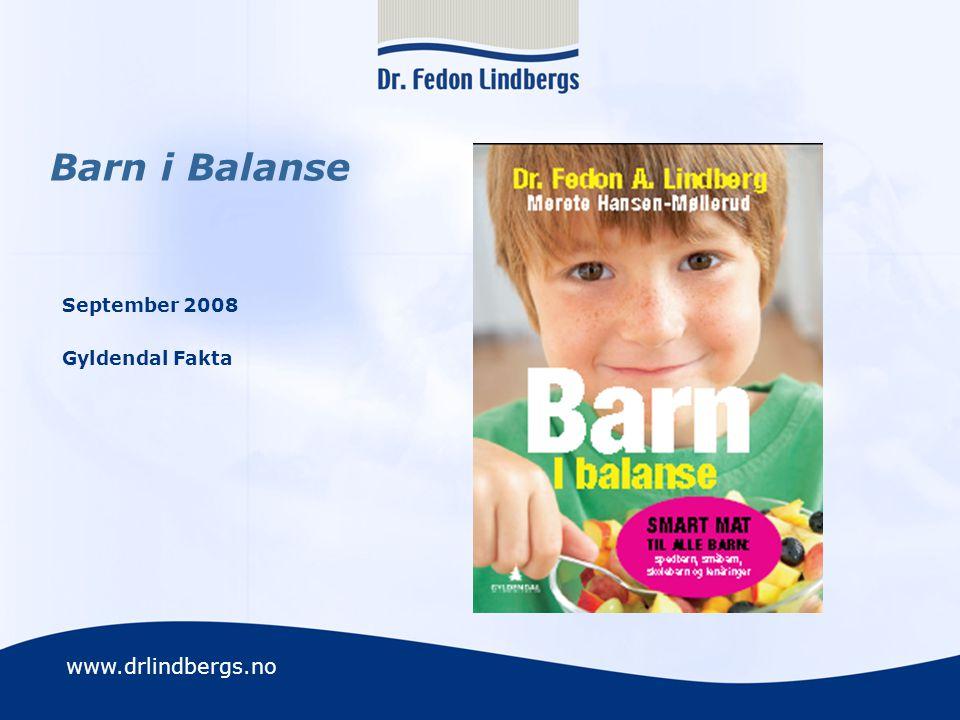 Barn i Balanse September 2008 Gyldendal Fakta