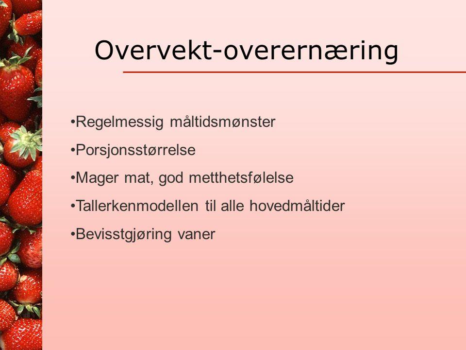 Overvekt-overernæring
